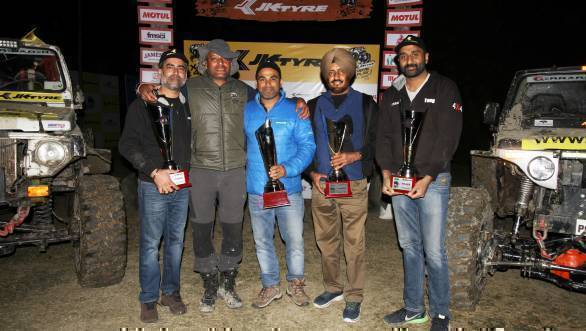 Gerrari Offroaders win second edition of JK Tyre Xtreme 4Play