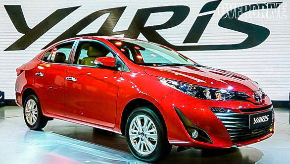 Auto Expo 2018: Toyota Yaris sedan unveiled, to target Honda City, Hyundai Verna and Maruti Suzuki Ciaz