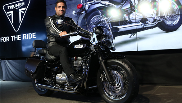 2018 Triumph Bonneville Speedmaster launched in India at Rs 11.11 lakh