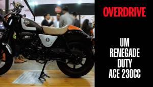 UM Renegade Duty Ace 230cc | 2018 Auto Expo