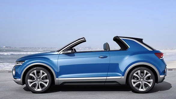 Volkswagen T-Roc Convertible SUV confirmed