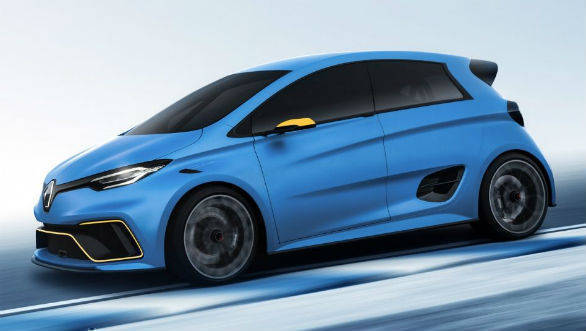Auto Expo 2018: Renault Zoe e-Sport Concept showcased