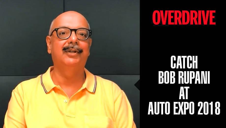 OVERDRIVE at Auto Expo 2018 | Bob Rupani
