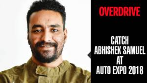 OVERDRIVE at Auto Expo 2018 | Abhishek Samuel