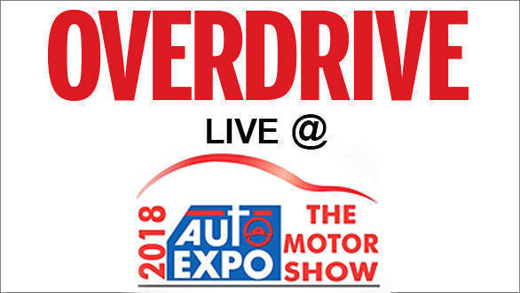 Overdrive live at Auto Expo 2018