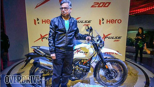 Auto Expo 2018: Hero Moto Corp XPulse 200 in production guise revealed