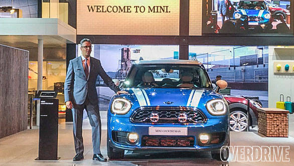 Auto Expo 2018: 2018 Mini Countryman unveiled