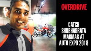 OVERDRIVE at Auto Expo 2018 | Shubhabrata Marmar | Bike reviews