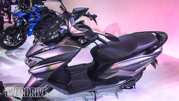 Auto Expo 2018: Suzuki Burgman Street 125cc maxi scooter image gallery