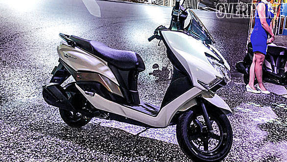 Suzuki Burgman Street 125cc maxi scooter to be launched in India tomorrow