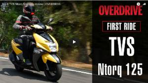 2018 TVS Ntorq first ride review - video