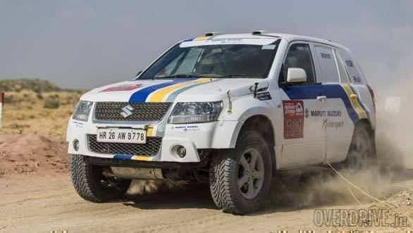 2018 Maruti Suzuki Desert Storm: Abhishek Mishra extends his lead after SS5