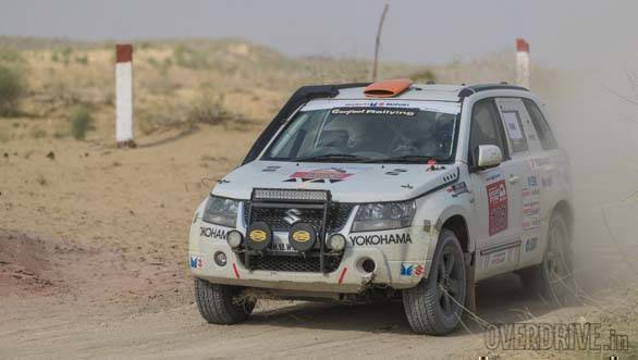 2018 Maruti Suzuki Desert Storm :Abhishek Mishra and Venu Ramesh Kumar win