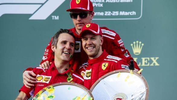 F1 2018: Vettel draws first blood with Australian GP victory
