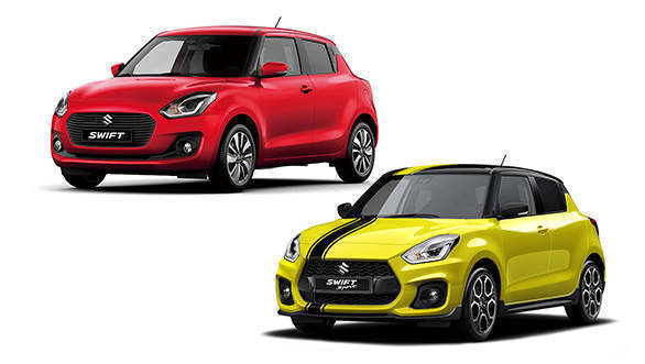 comparison 2018 suzuki swift sport beeracing edition vs india spec maruti suzuki swift overdrive. Black Bedroom Furniture Sets. Home Design Ideas