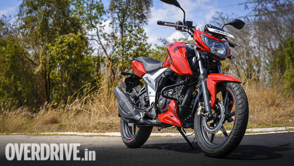 2018 tvs apache rtr 160 4v image gallery overdrive