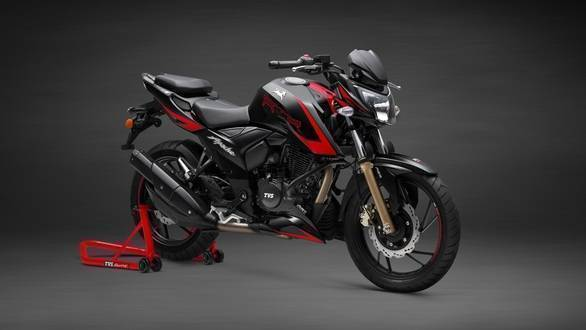 TVS Apache RTR 200 4V Race Edition 2.0 launched with a slipper clutch