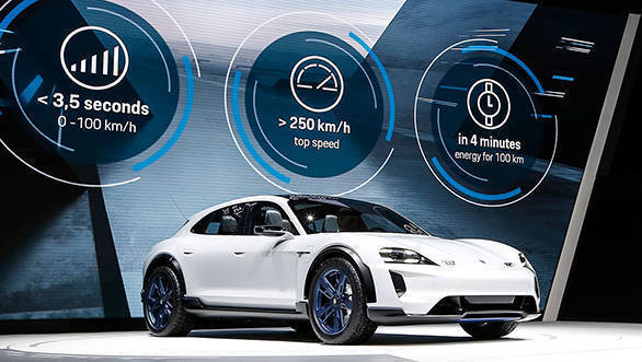 Geneva Motor Show 2018: 2019 Porsche Mission E Cross Turismo revealed