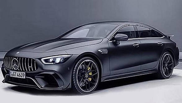 2019 Mercedes-AMG GT4 sedan images leaked before Geneva debut