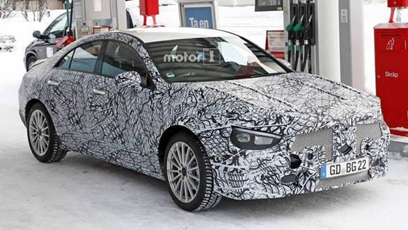 Next-gen Mercedes-Benz CLA spied testing again
