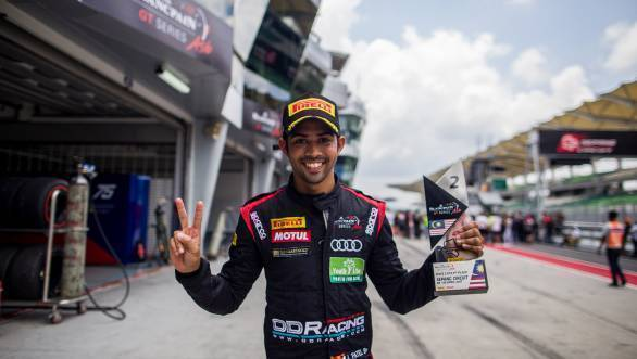 Aditya Patel confirms return to Blancpain GT Series Asia for 2018 season