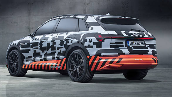 Audi e-tron prototype revealedAll-electric SUV previewed in Geneva