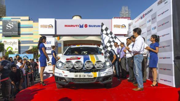 2018 Maruti Suzuki Desert Storm flagged off in Noida