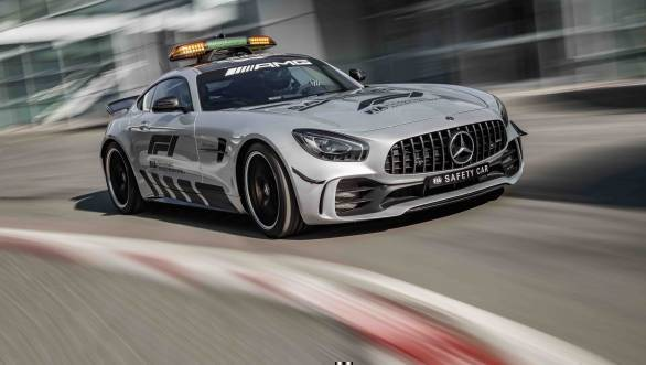 Meet the most powerful Formula 1 Safety Car ever - the Mercedes AMG GT R