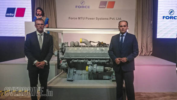 Force Motors announces joint venture with Rolls-Royce Power Systems under Force MTU Power Systems banner