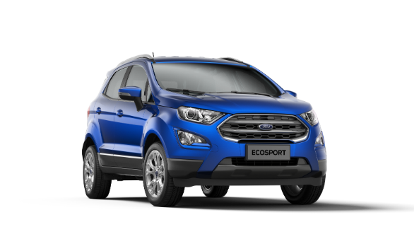2018 Ford EcoSport Titanium+ petrol with 5-speed manual option launched in India for Rs 10.47 lakh