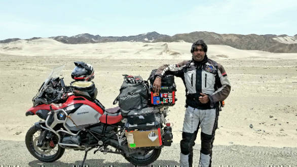 Mumbai based biker covers 35 countries in 9 months