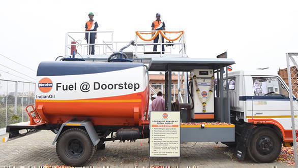 Indian Oil begins doorstep delivery of diesel in India