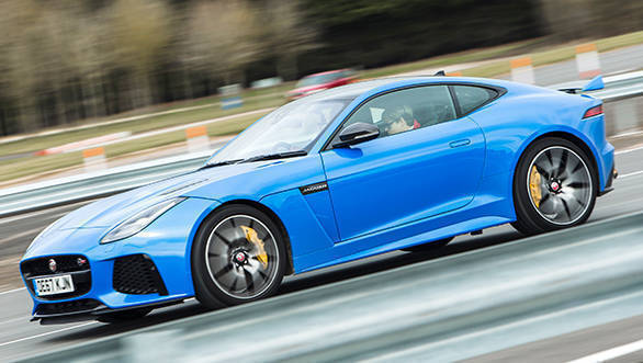 2018 Jaguar F-Type SVR first drive review