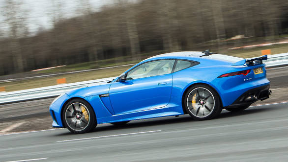 Image gallery: India-bound 2018 Jaguar F-Type SVR