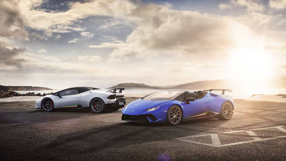 Geneva Motor Show 2018: Lamborghini Huracan Performante Spyder has been launched in time for summer