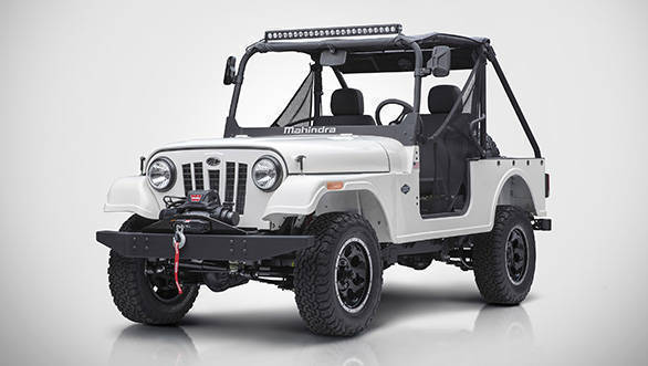 Mahindra Roxor off-road vehicle is for the US market only