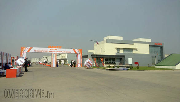 Maxxis Tyre opens first plant in India at Sanand