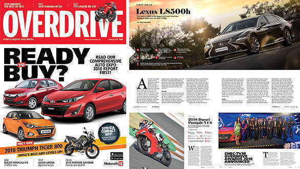 The March 2018 issue of OVERDRIVE is on stands now!