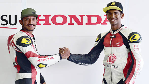 ARRC 2018: Rajiv Sethu and Anish Shetty part of IDEMITSU Honda Racing India team