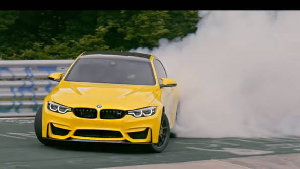 Video worth watching: BMW M4 CS doing an insane drift