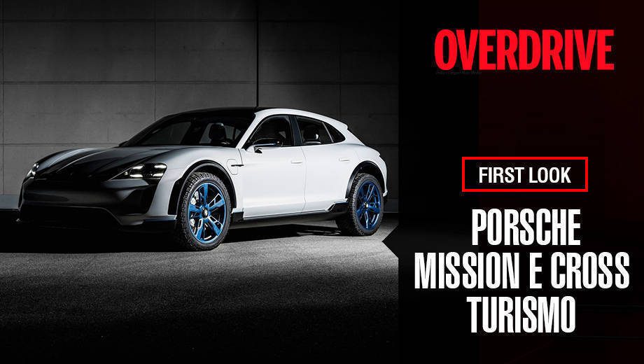 Porsche Mission E Cross Turismo at Geneva Motor Show