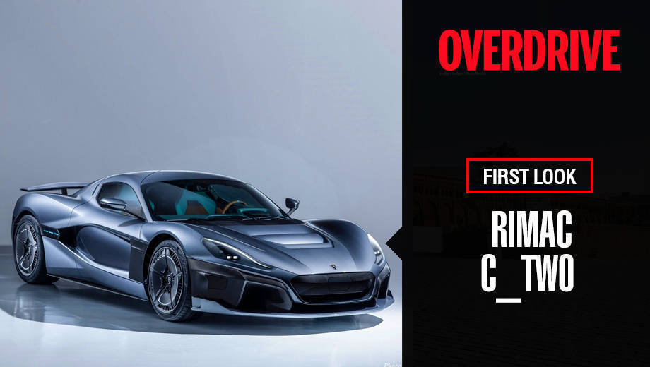 Rimac C_Two Hypercar at Geneva Motor Show