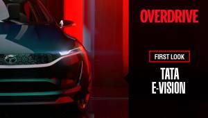 Tata E-Vision at Geneva Motor Show