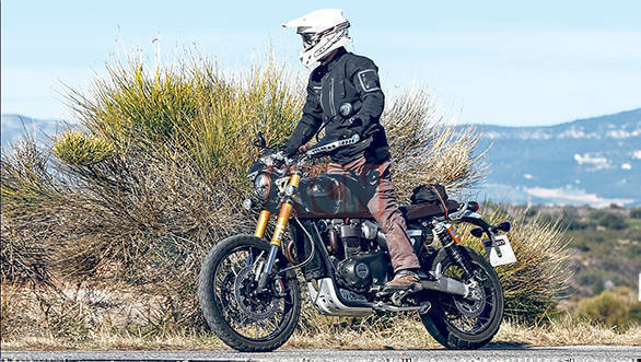 All-new Triumph Scrambler 1200 spotted testing, could debut at EICMA 2018