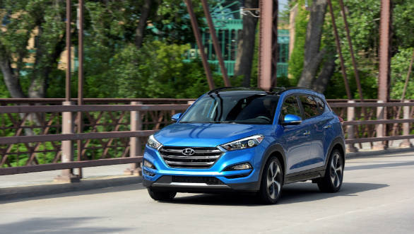 Hyundai Tucson Sport with 2.4 litre petrol motor launched in USA