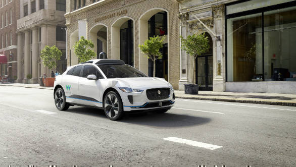 Jaguar Land Rover to add up to 20,000 all-electric I-Pace crossovers to Waymo's self-driving car fleet