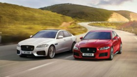 Jaguar XE and XF now available with Ingenium petrol engines