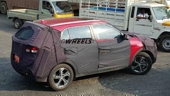 2018 Hyundai Creta SUV facelift spied testing in Chennai