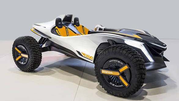 Geneva Motor Show 2018: Hyundai Kite concept is an electric buggy that also drives on water