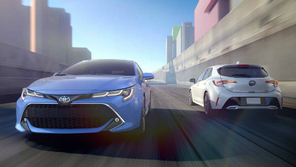 2019 Toyota Corolla Hatchback revealed before 2018 New York Auto Show debut